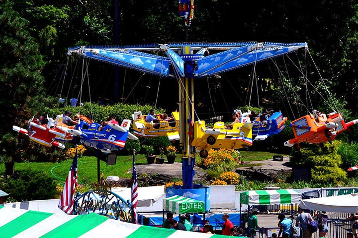 Theme Parks In USA - Victorian Gardens, New York