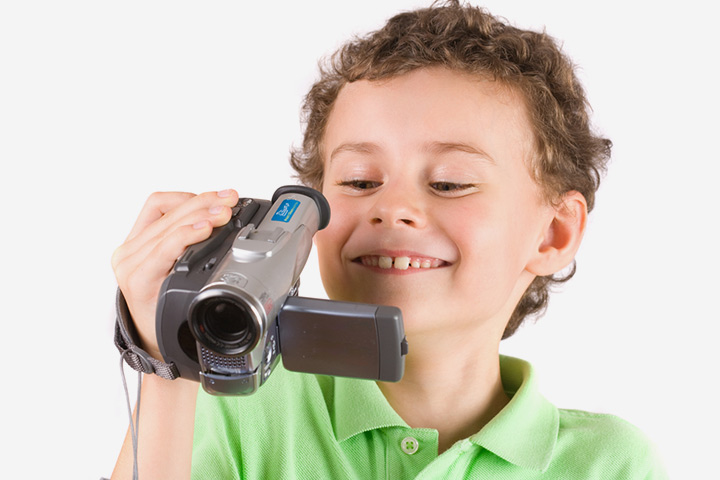 Scavenger Hunt Ideas For Kids  - Video Camera Scavenger Hunt