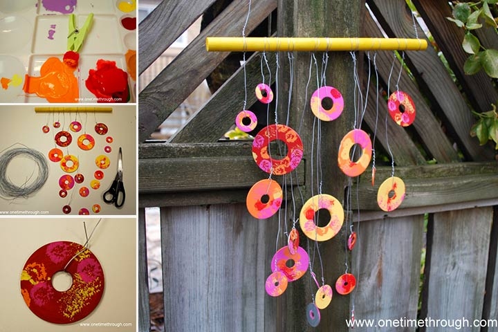 Christmas Gifts For Kids - Washer Windchime