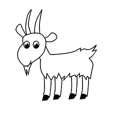 Chinese New Year Coloring Pages - Year Of Goat