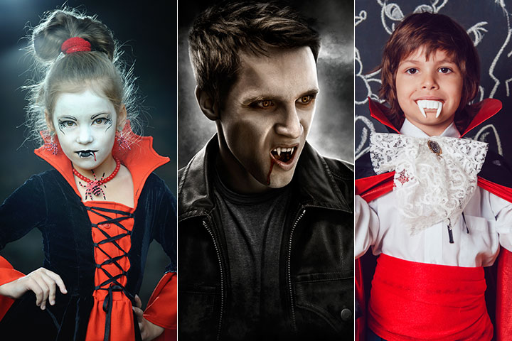12 Terrific Vampire Costumes For Kids