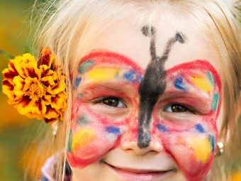 3 Beautiful Butterfly Face Painting Designs For Kids