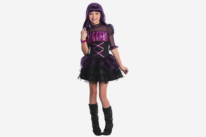 Vampire Costumes For Kids - Monster High Frights Camera Action Elissabat Costume