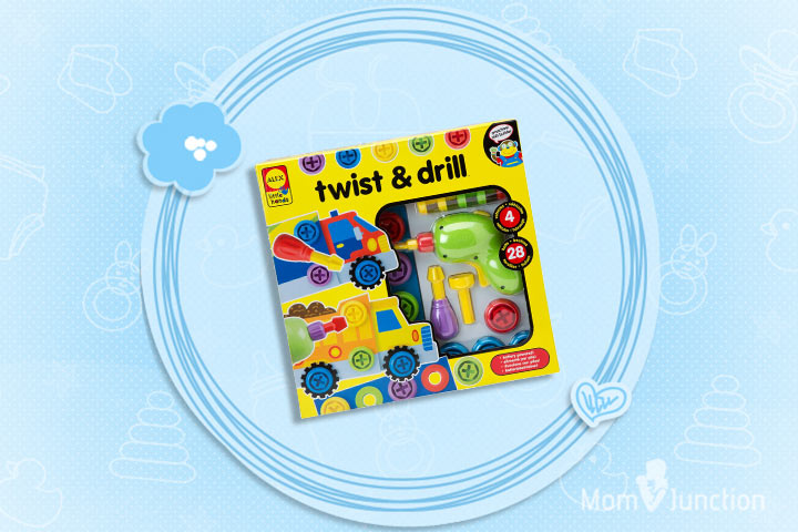 Christmas Gifts For Toddlers - ALEX Toys Little Hands Twist & Drill