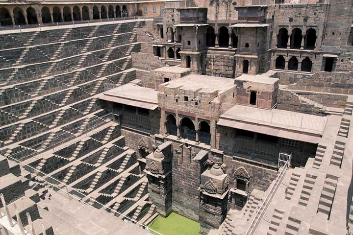 Abhaneri Stepwells or The Chand Baori