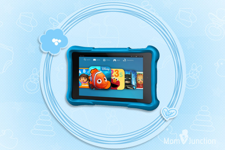 Learning Tablets For Kids - Amazon Fire HD 6 Kid's Edition