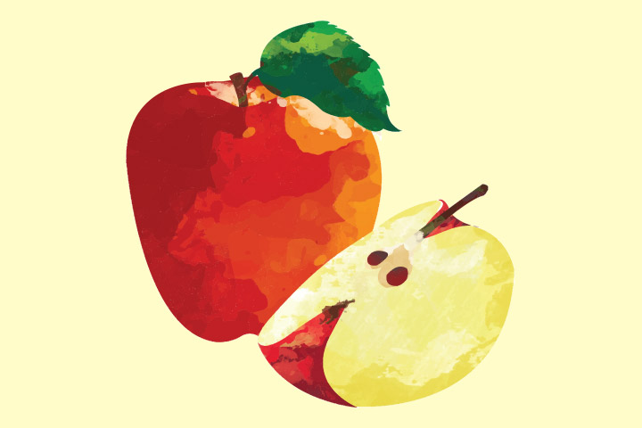 Collage Ideas For Kids - Apple Collage