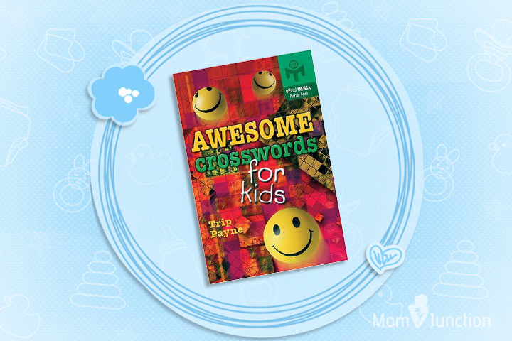 Awesome Crossword For Kids An Official Mensa Puzzle Book