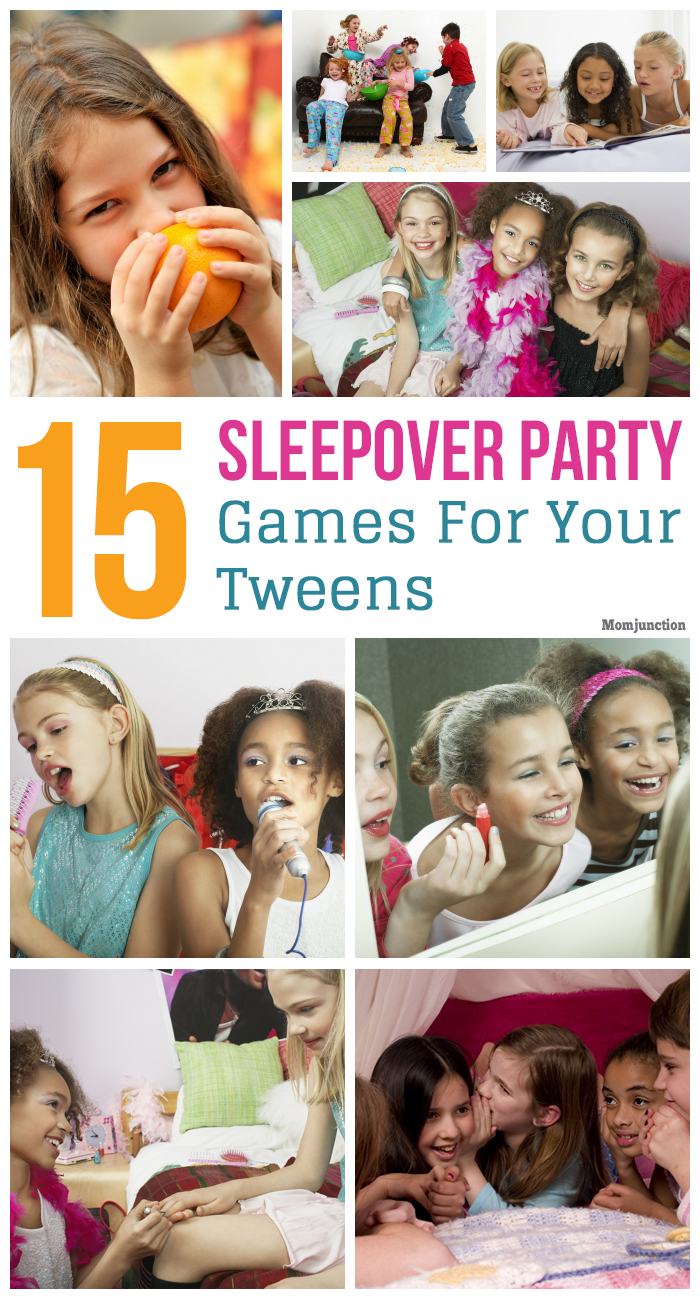 Wholesome fun slumber party pre-teen movie