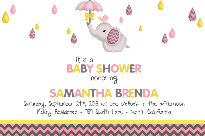 Baby Sprinkle Invitation Wording