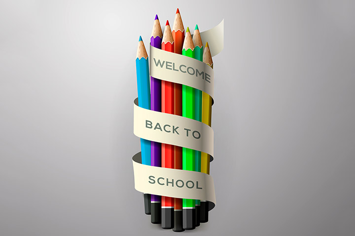 Back To School Crafts - Back To School Bunch Of Pencil Crayons