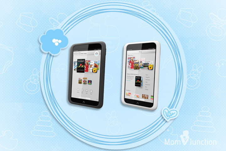 Learning Tablets For Kids - Barnes And Noble Hook HD+