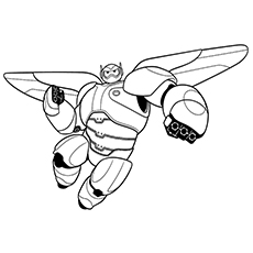 Top 11 Big Hero 11 Coloring Pages