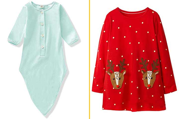Toddler Baby Boy Girl Christmas Fleece Sweatshirt Kid Reindeer Outfit Clothes