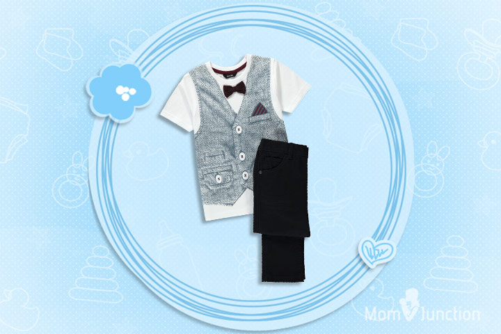 Christmas Outfits For Kids - Boy's Dressy 3 Piece Holiday Ensemble