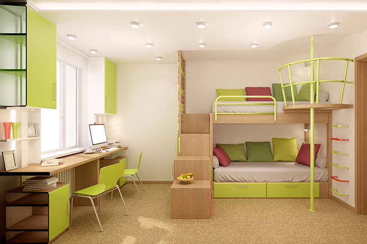 Bunk bed room design