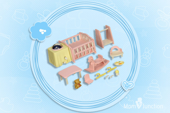 Christmas Gifts For Toddlers - Calico Critters Nightlight Nursery Set