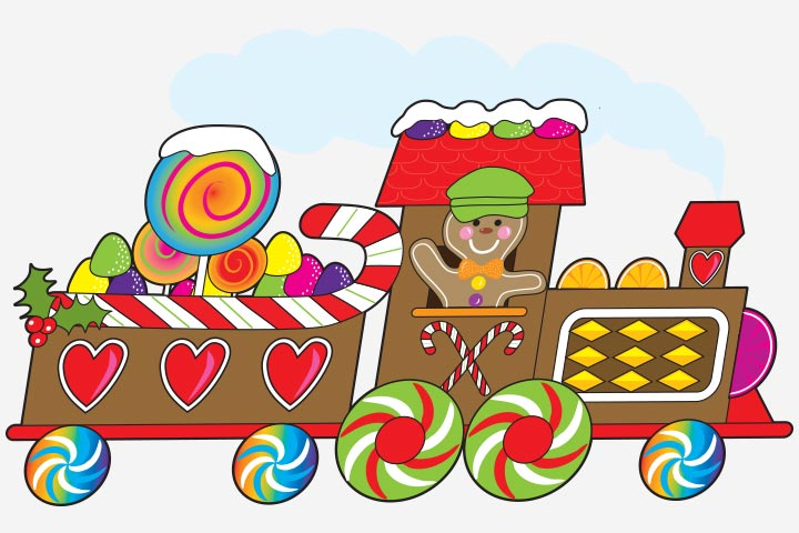 Transportation Crafts - Candy Train Craft