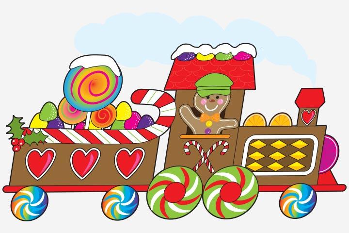 Transportation Crafts - Candy Train Craft