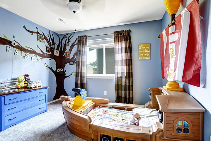Cheerful Kids Room Design