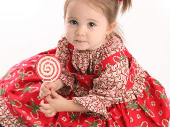 25 Beautiful Christmas Dresses For Your Toddlers