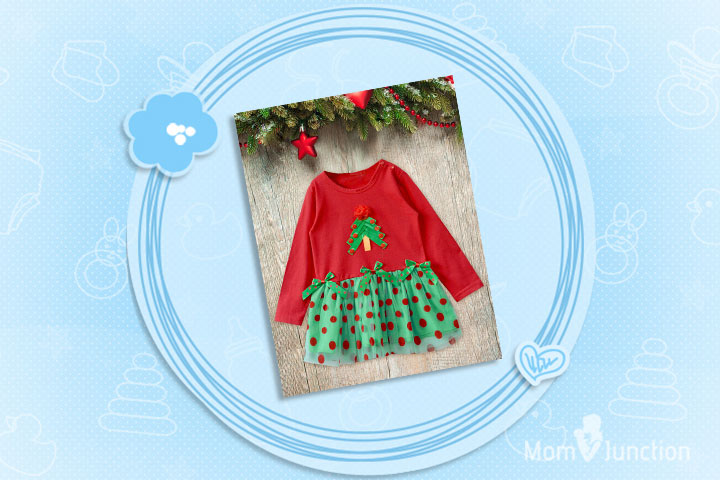 Christmas Outfits For Babies - Christmas Tree Design Christmas Costume