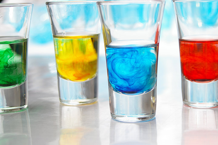 Science Experiments For Kindergarten - Color Play