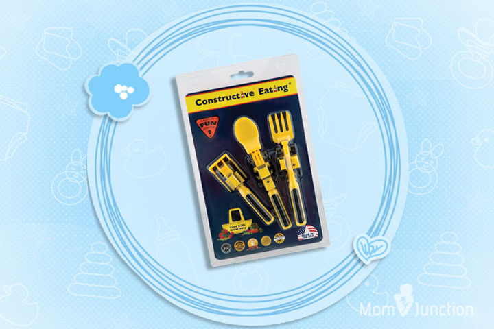 Christmas Gifts For Toddlers - Constructive Kids Utensil Set