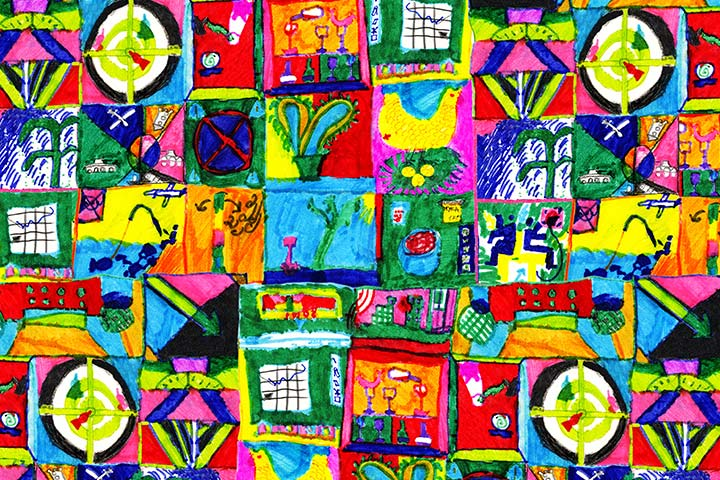 Collage Ideas For Kids