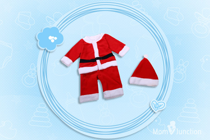 Christmas Dresses For Toddlers - Cute Christmas Santa Claus Costume