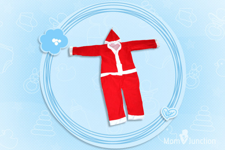 Christmas Outfits For Babies - Cute Christmas Santa Claus Costume
