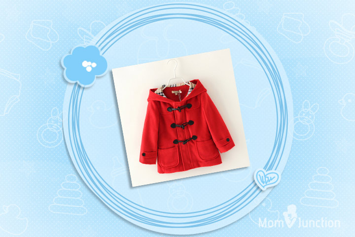 Christmas Outfits For Babies - Cute Dainty Red Jacket For Christmas Costume