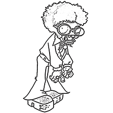coloring pages of disco zombie - Zombie Coloring Pages