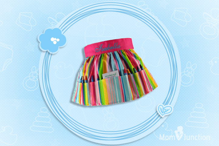 Christmas Gifts For Toddlers - Doodlebugz Crayon Apron