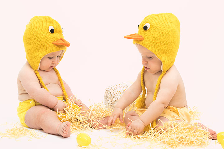 Easter Chick Visor