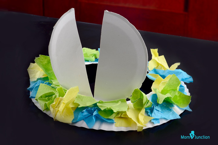 Easter Paper Plate Hat