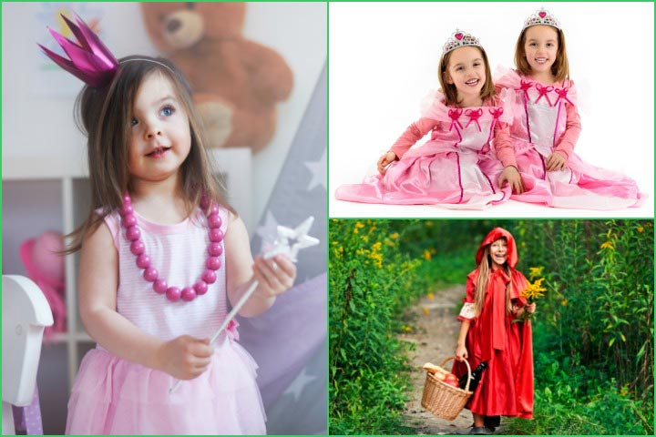 Fairy Tale And Princess Costumes  sc 1 st  MomJunction & 101 Cute Fancy Dress Theme Ideas For Kids