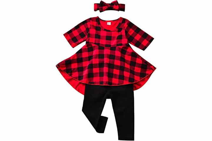 Fioukiay Girls Highlow Outfit