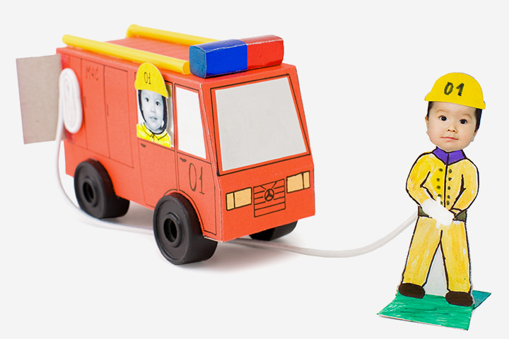 Transportation Crafts - Fire Engine Craft
