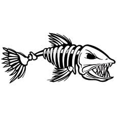 Fish-skeleton