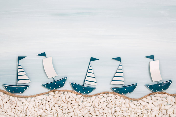 Transportation Crafts - Flotilla Collage