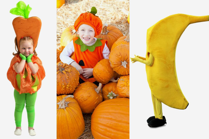 Food Costumes - Fruits And Vegetables