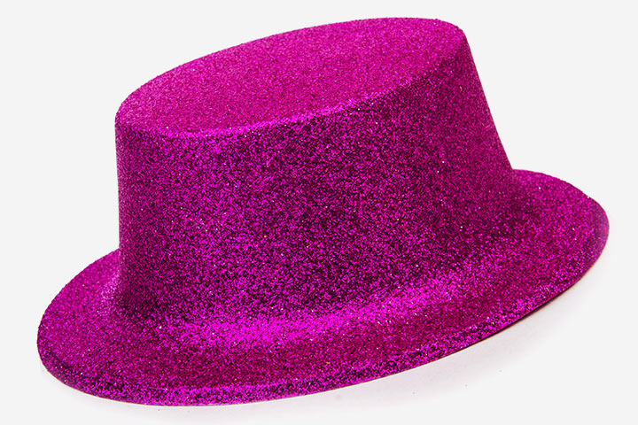 Glittering Top Hat