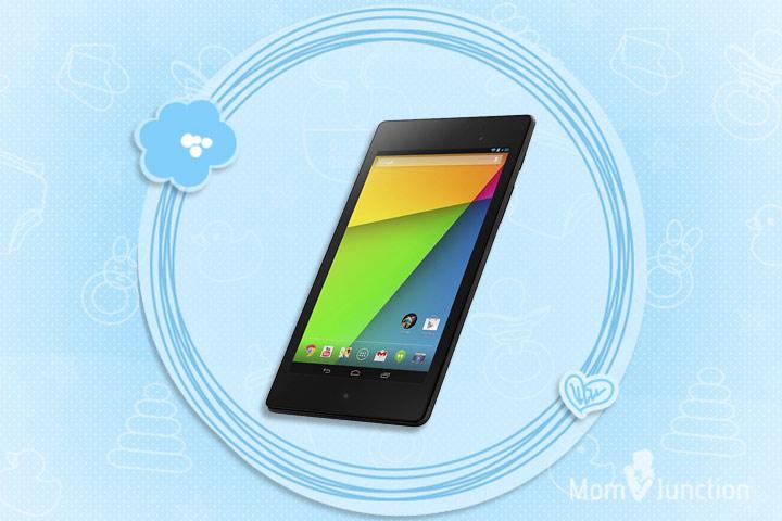 Learning Tablets For Kids - Google Nexus 7