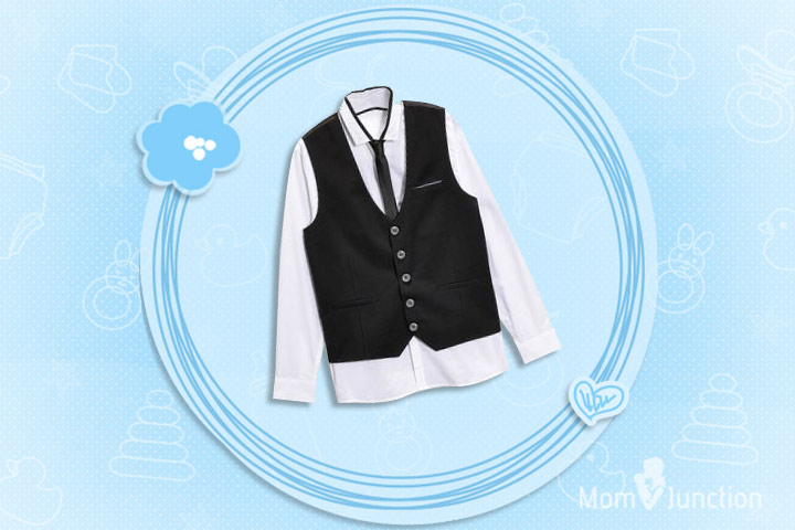 Christmas Outfits For Kids - Heritage Waistcoat Shirt And Tie Set