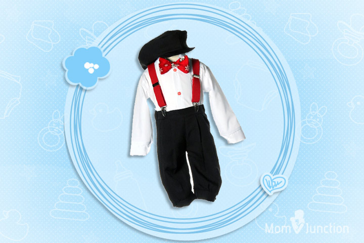 Christmas Outfits For Kids - Holiday Knickers with Red Snowman Bow Tie