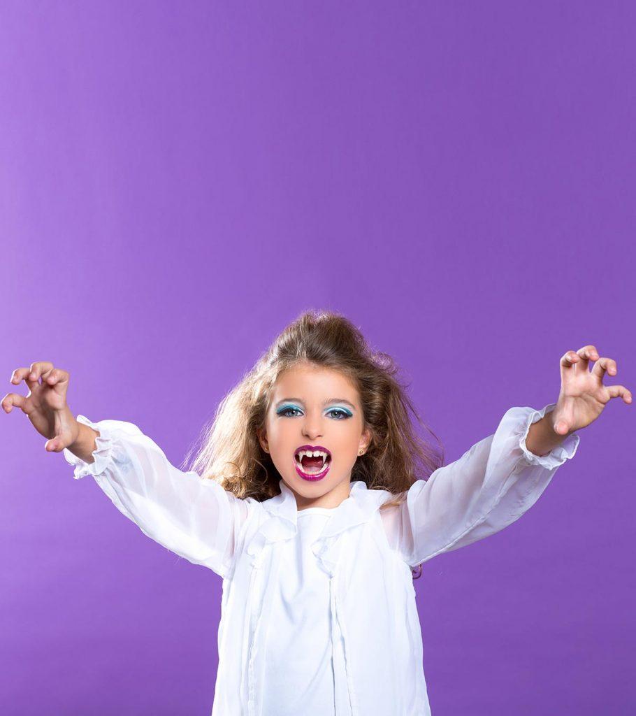 KIDS CHILDRENS  HALLOWEEN VAMPIRE FANGS