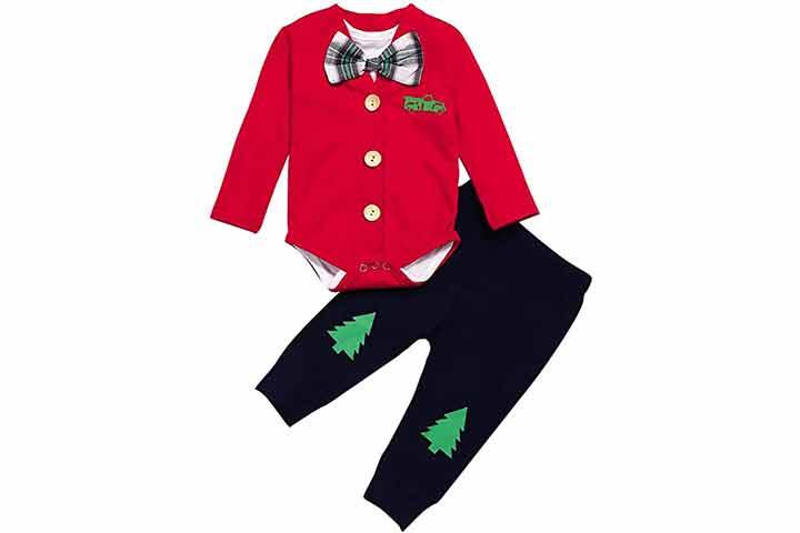 KissB Baby Boy Gentleman Clothing Set