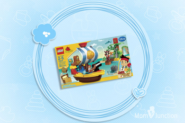 Christmas Gifts For Toddlers - LEGO 10514 Jakes Pirate Ship Bucky