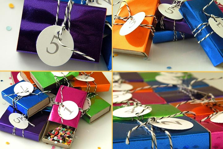 New Year Crafts For Kids - Matchbox Countdown